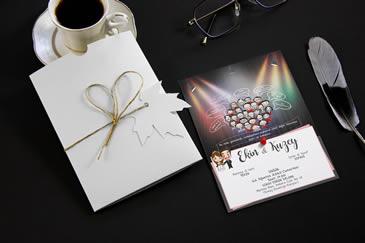 Değişik düğün davetiye modelleri