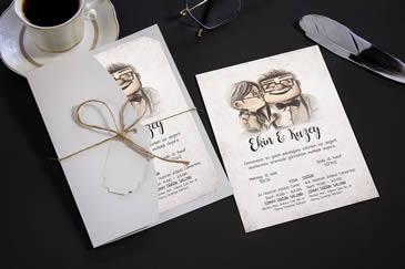 Çok satan düğün davetiyesi