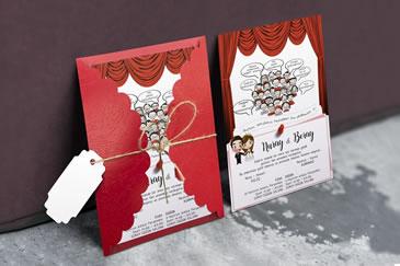 Yeni düğün davetiye modelleri