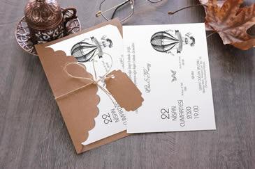 En değişik düğün davetiyesi modelleri