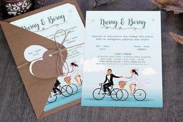 Bisikletli davetiye