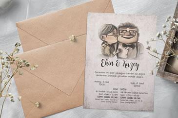 İlginç esprili düğün davetiye